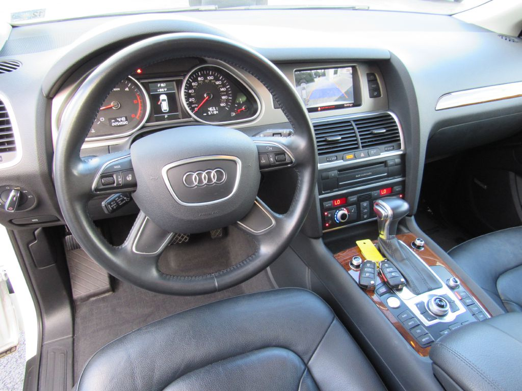 2015 Audi Q7 PREMIUM PLUS TDI 3rd Row-Blind Spot-NAV