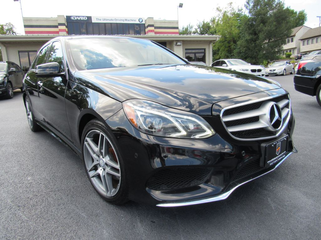 2015 Mercedes-Benz E400 4MATIC NAV AC SEATS BLIND SPOT