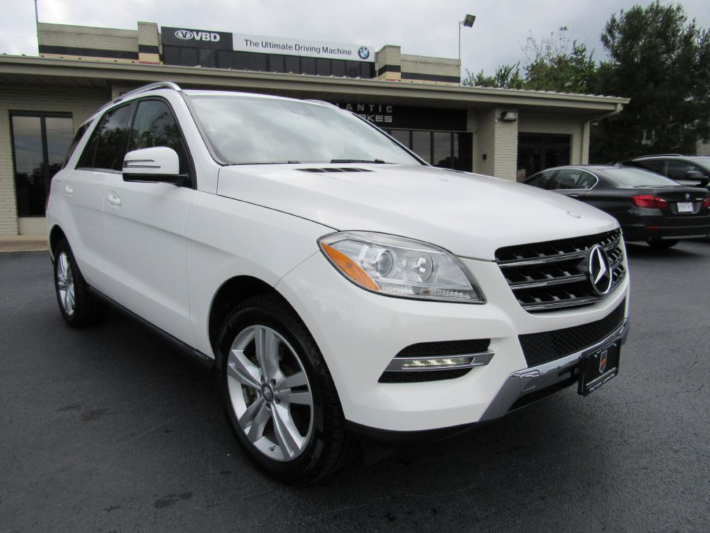 2014 Mercedes-Benz ML 350 4MATIC NAV Rear Camera 4 NEW Tires