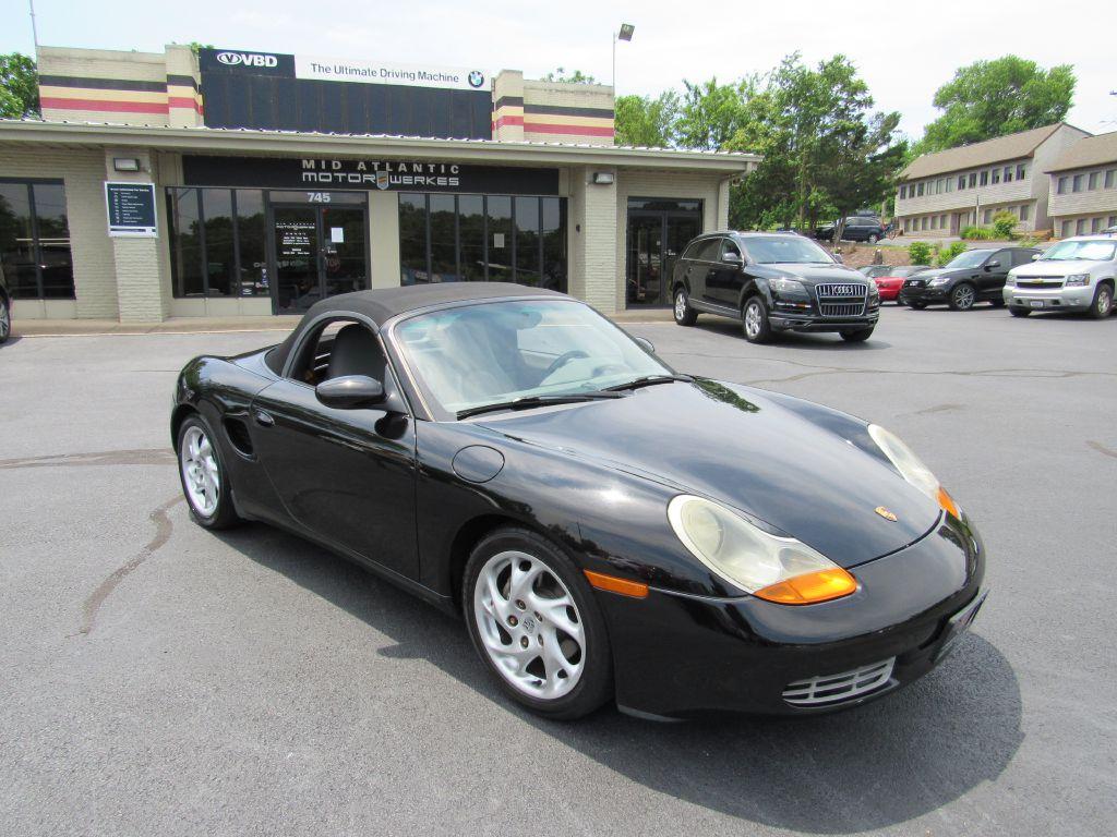 1999 Porsche BOXSTER MANUAL 5-Speed Heated Seats