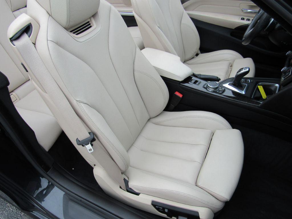 2015 BMW 428 CONVERTIBLE ///M-NAV-Camera-HUD- 1 Owner!!
