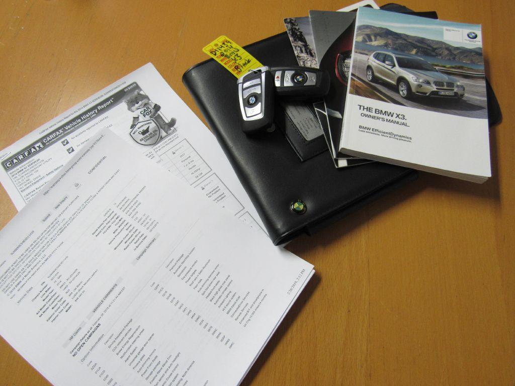 2014 BMW X3 XDRIVE 28I NAV-Rear Camera-4 New Tires!