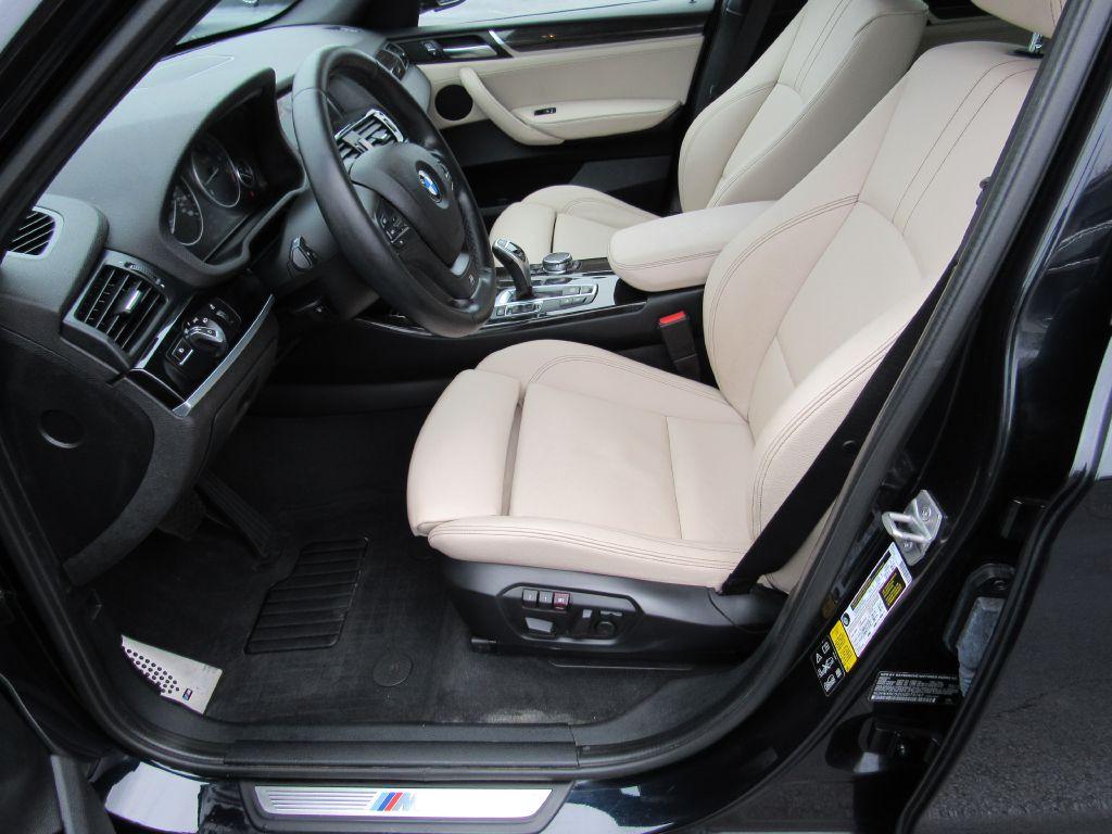 2016 BMW X3 XDRIVE 28I ///M Sport-NAV-Camera-1 Owner!