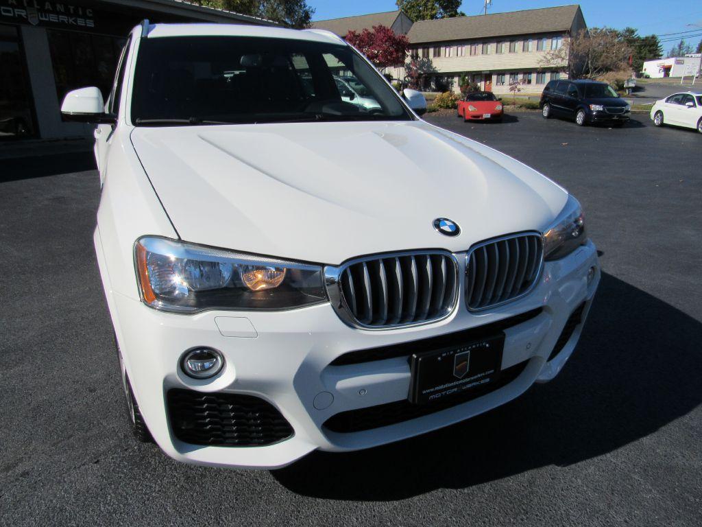 2016 BMW X3 28I XDRIVE ///M Sport NAV HUD H/K Audio