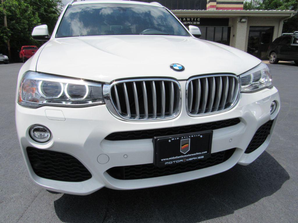 2016 BMW X3 28I XDRIVE ///M Sport-Camera-HUD-LOADED!!