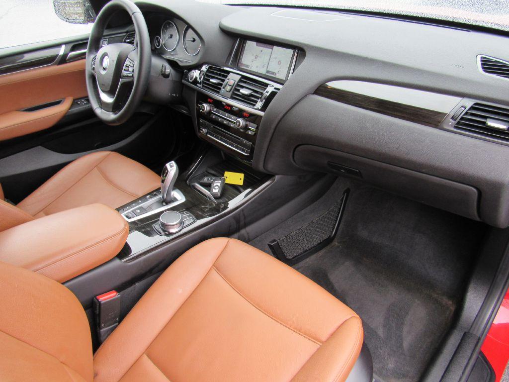 2017 BMW X3 XDRIVE 28I 17,340 Miles Blind Spot-LOADED