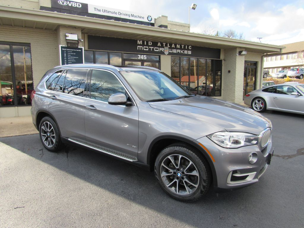 2017 BMW X5 35I XDRIVE 1 Owner! XLine-Skyview-LOADED!
