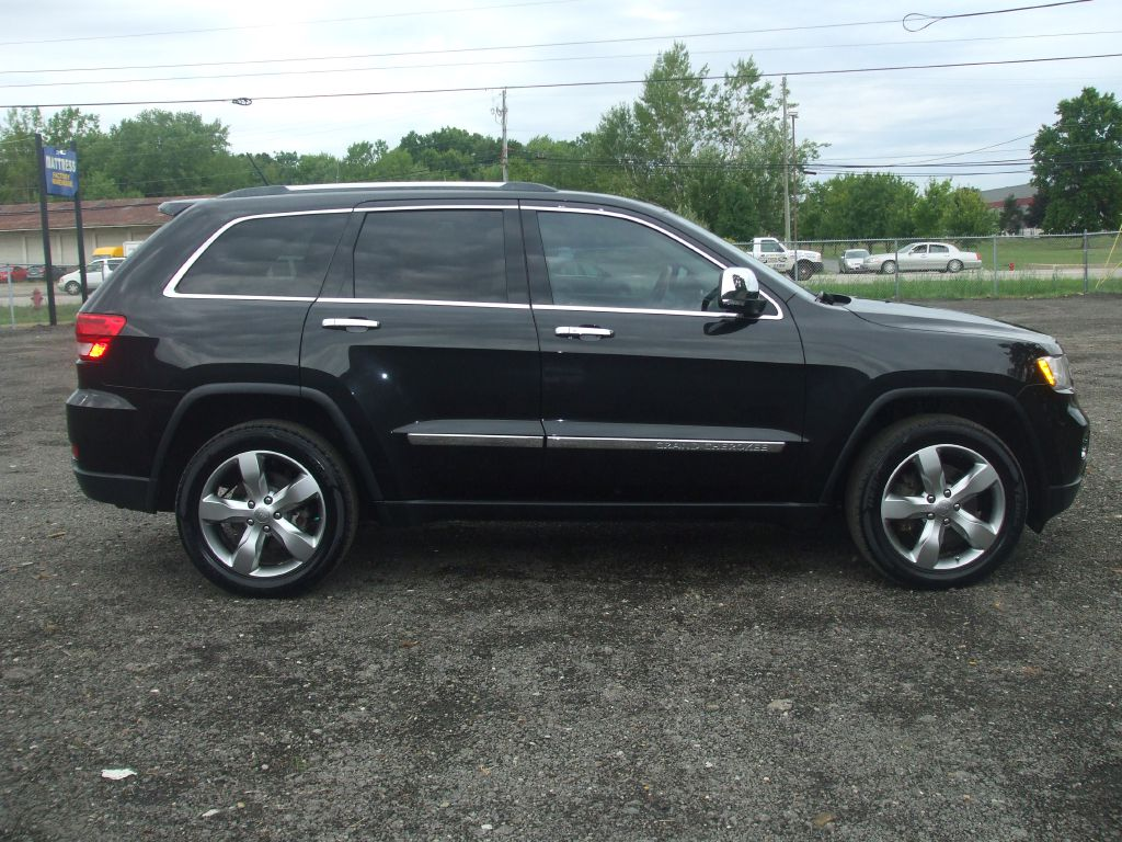 2012 JEEP GRAND CHEROKEE OVERLAND for sale at JHD Automotive Sales & Service