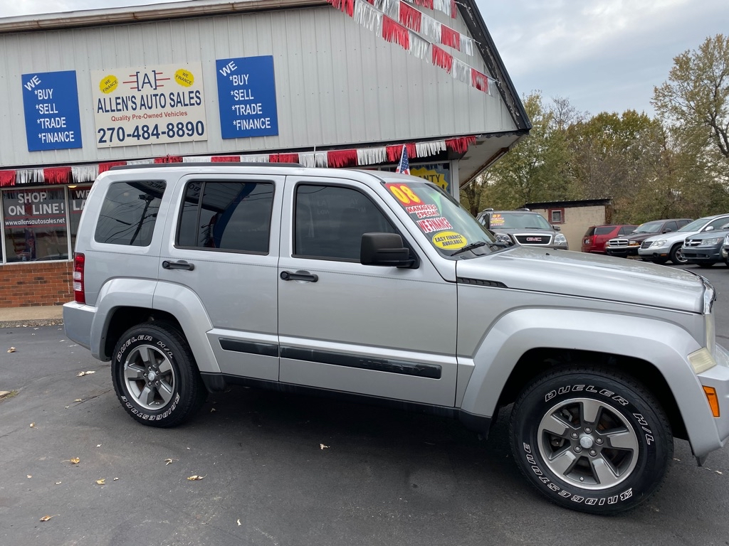 2008 Jeep Liberty For Sale >> Used 2008 Jeep Liberty In Madisonville Ky Auto Com 1j8gp28k28w258257