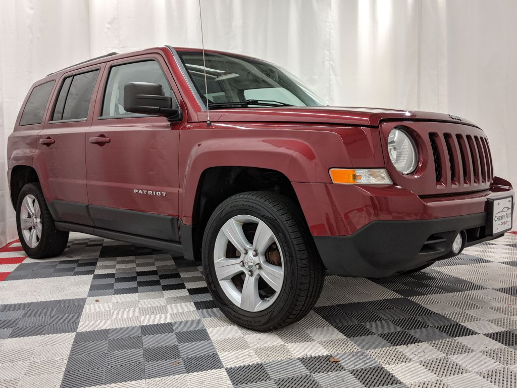 2012 JEEP PATRIOT 4WD LATITUDE for sale at Cherry Auto Group