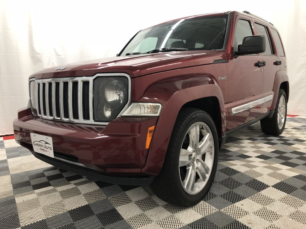 2012 JEEP LIBERTY 4WD JET JET for sale at Cherry Auto Group