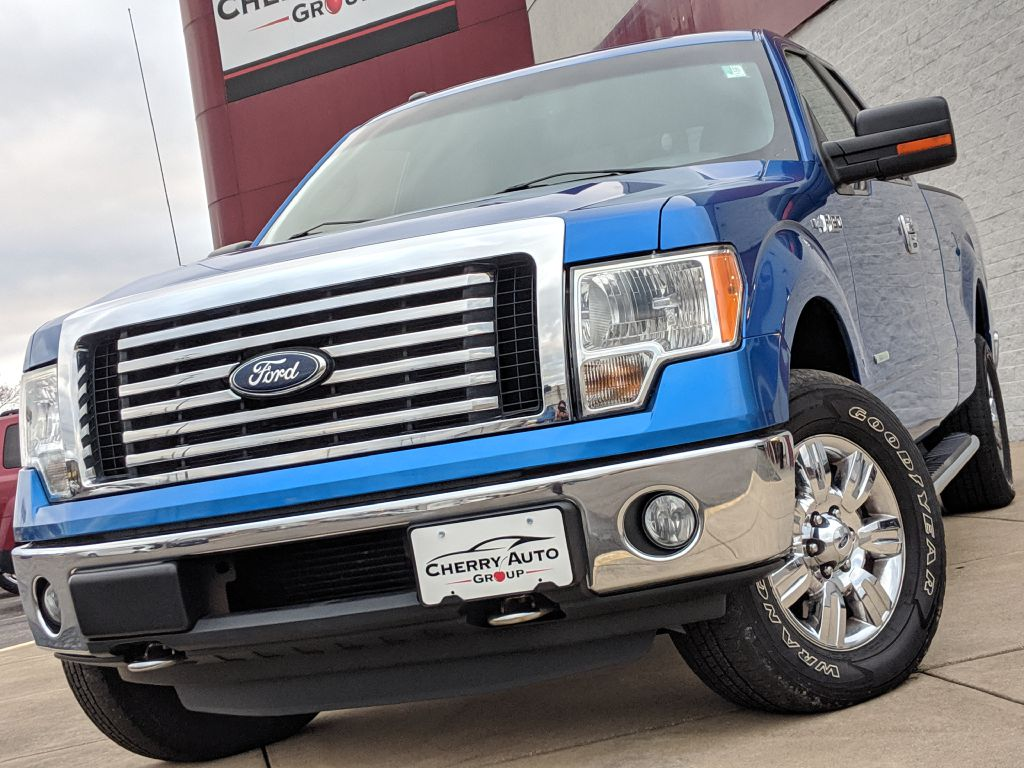 2011 FORD F150 XLT 4WD SUPER CAB for sale at Cherry Auto Group