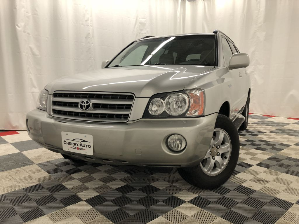 2002 TOYOTA HIGHLANDER AWD LIMITED