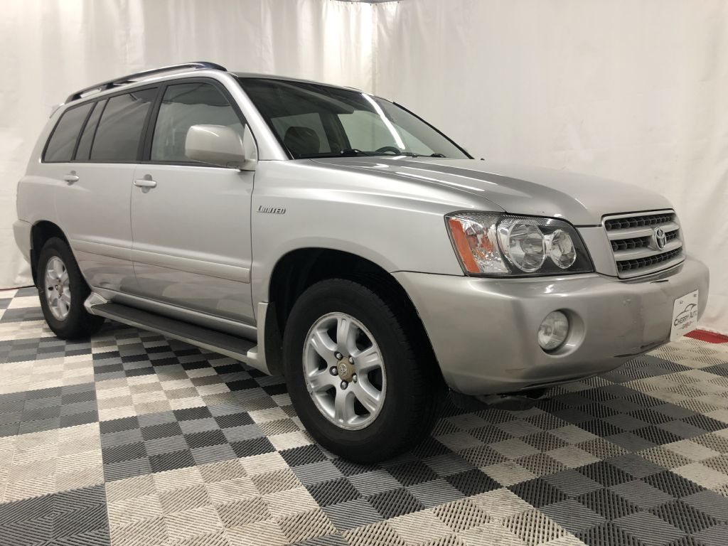 2002 TOYOTA HIGHLANDER AWD LIMITED for sale at Cherry Auto Group