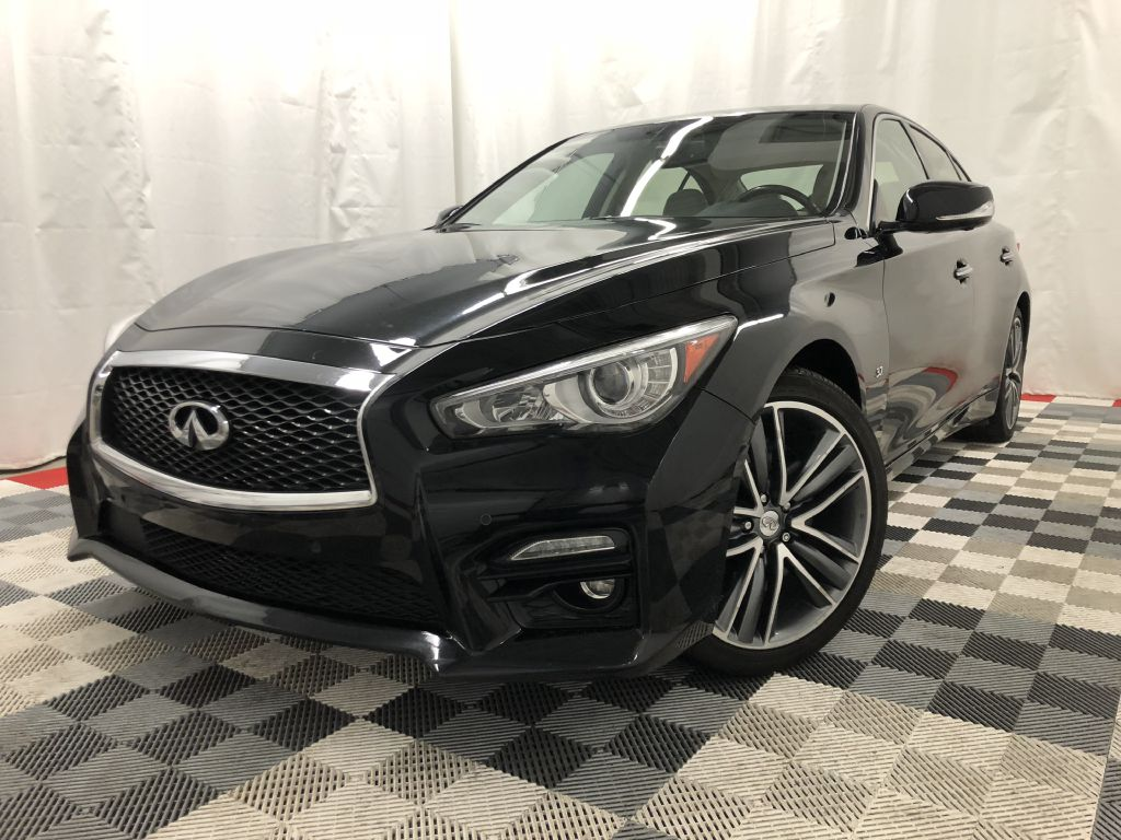 2015 INFINITI Q50 S AWD BASE for sale at Cherry Auto Group