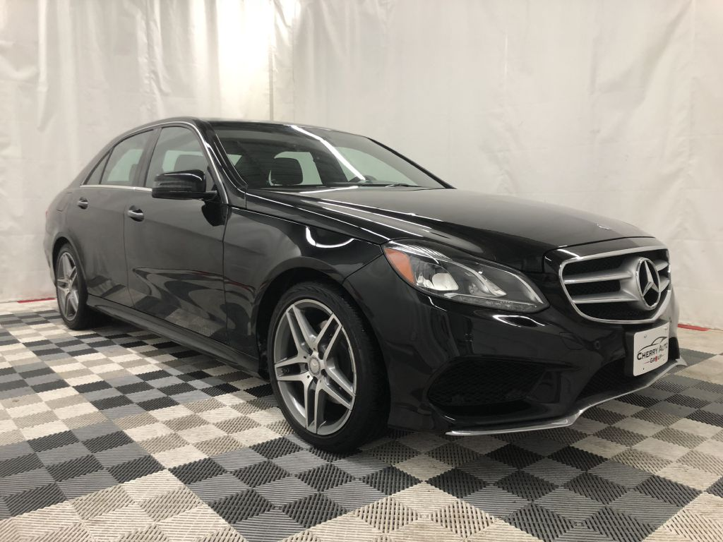 2016 MERCEDES-BENZ E-350 4MATIC SPORT for sale at Cherry Auto Group