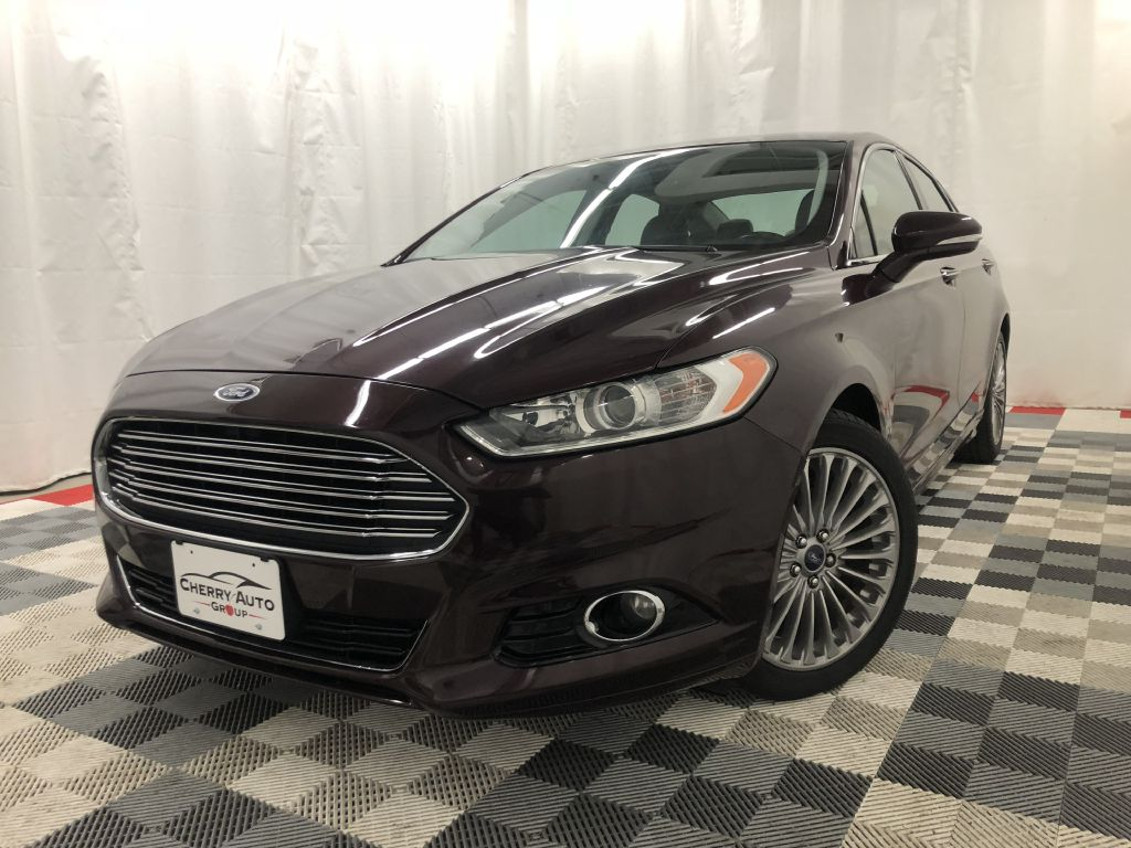 2013 FORD FUSION TITANIUM ECO BOOST