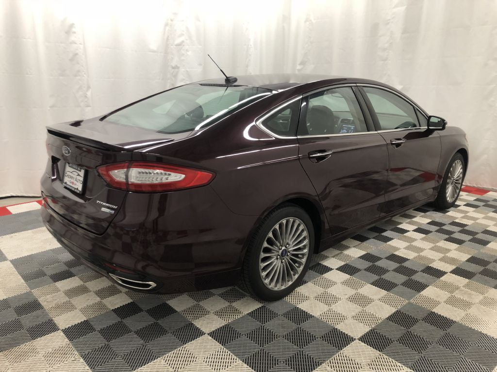 2013 FORD FUSION TITANIUM ECO BOOST for sale at Cherry Auto Group
