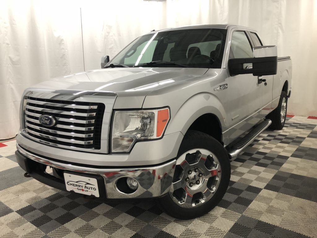 2011 FORD F150 XLT 4WD SUPER CAB ECO BOOST for sale at Cherry Auto Group