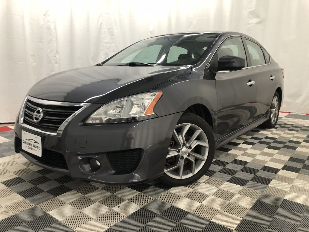 2013 NISSAN SENTRA SR SR for sale at Cherry Auto Group