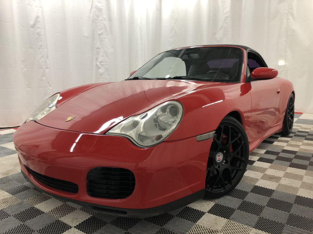2004 PORSCHE 911 C4S CAB CABRIOLET CARRERA for sale at Cherry Auto Group