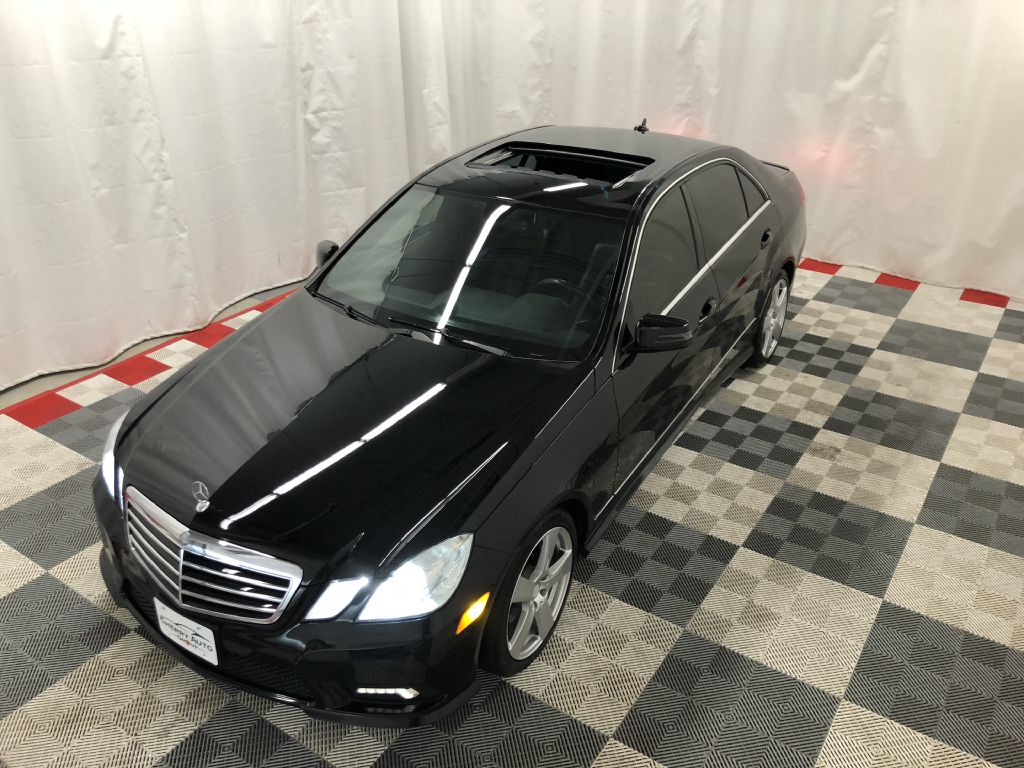 2011 MERCEDES-BENZ E-CLASS 4MATIC E350 4MATIC for sale at Cherry Auto Group