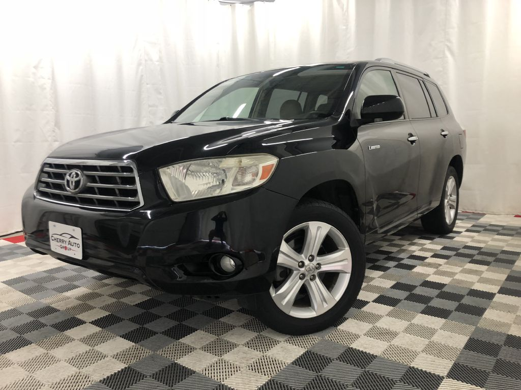 2008 TOYOTA HIGHLANDER 4WD LIMITED