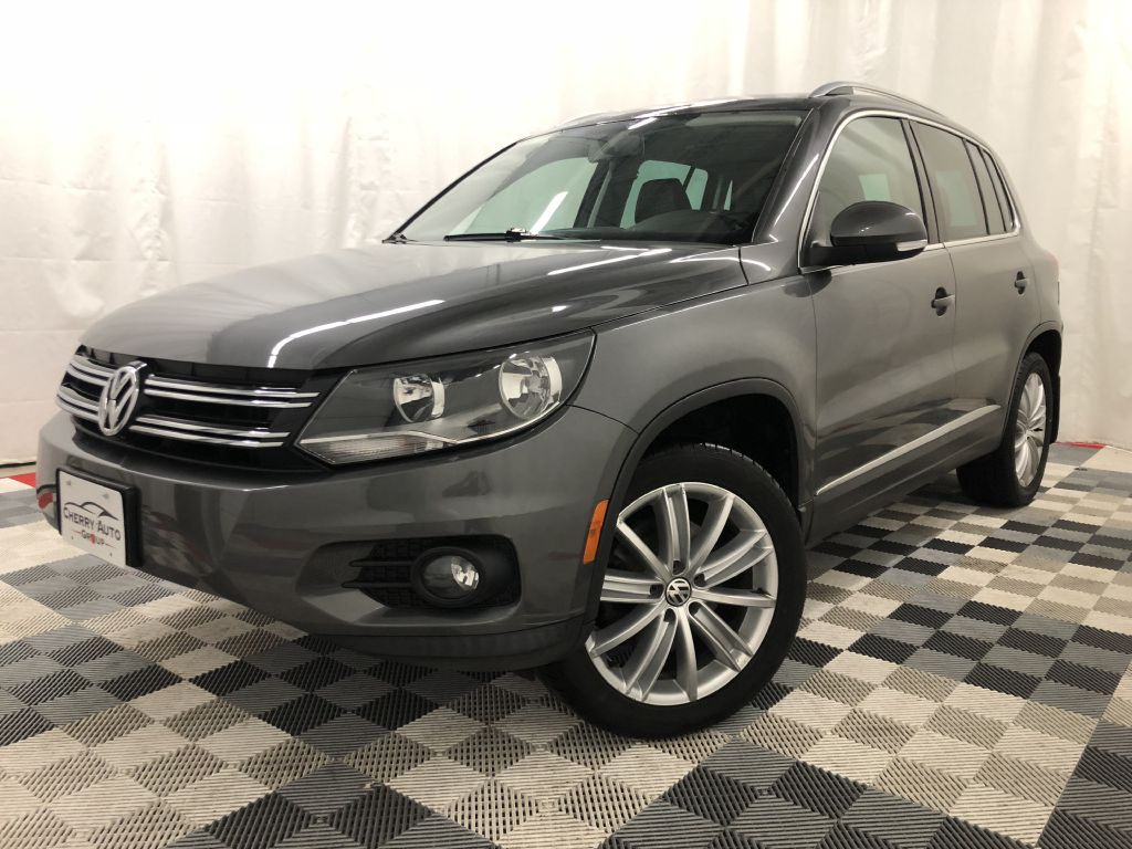 2014 VOLKSWAGEN TIGUAN 4 MOTION SE for sale at Cherry Auto Group