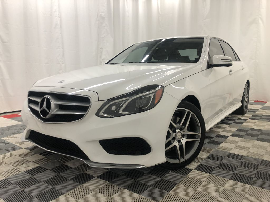 2014 MERCEDES-BENZ E-CLASS 4MATIC E350 for sale at Cherry Auto Group