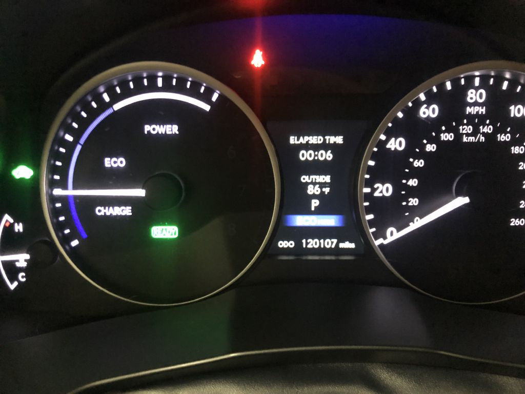 2013 LEXUS ES 300 HYBRID SPORT SEDAN for sale at Cherry Auto Group