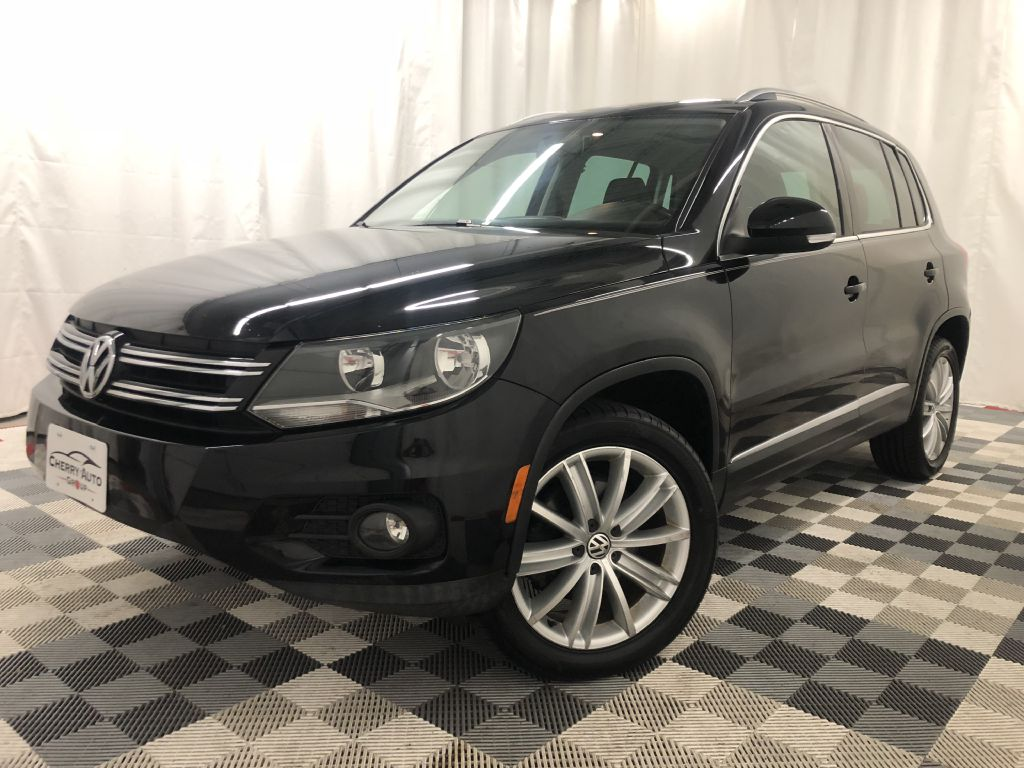 2012 VOLKSWAGEN TIGUAN SEL for sale at Cherry Auto Group