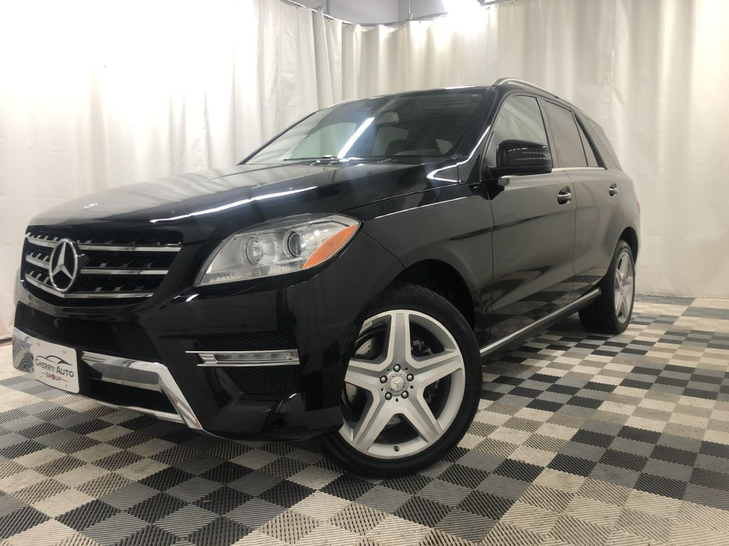 2015 MERCEDES-BENZ ML 400  4MATIC SPORT for sale at Cherry Auto Group