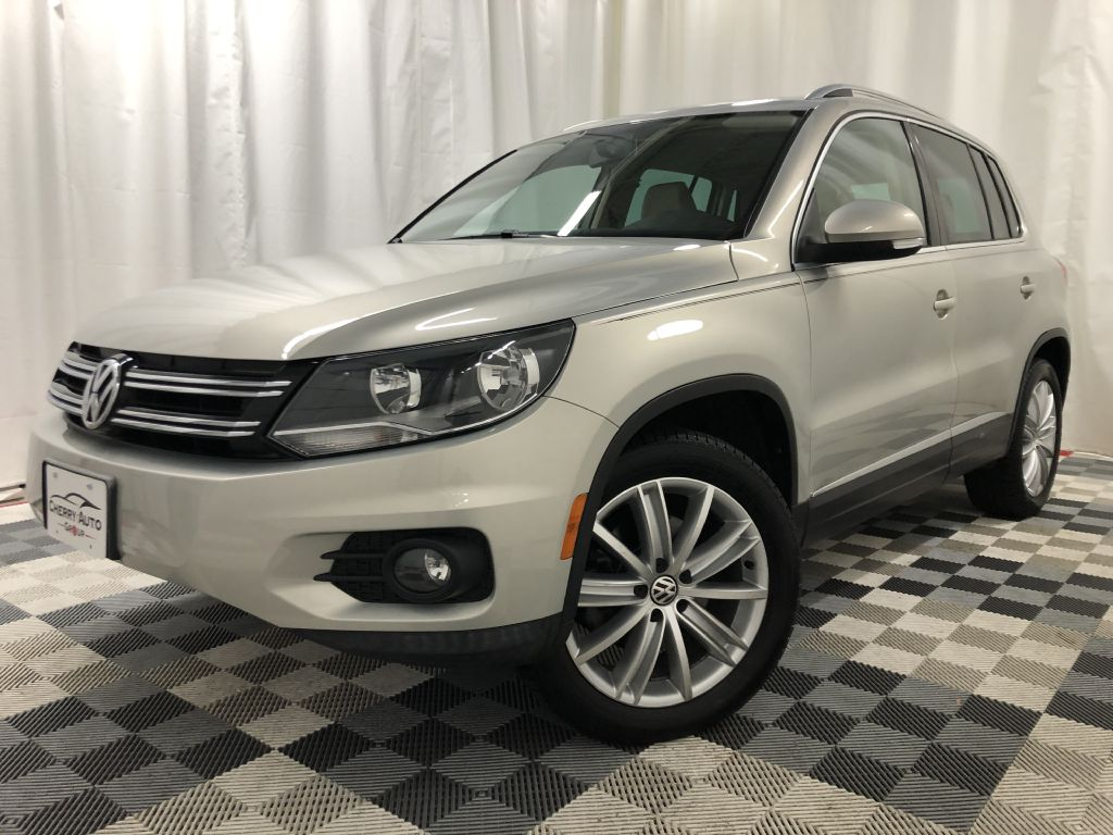 2012 VOLKSWAGEN TIGUAN 4 MOTION SEL for sale at Cherry Auto Group