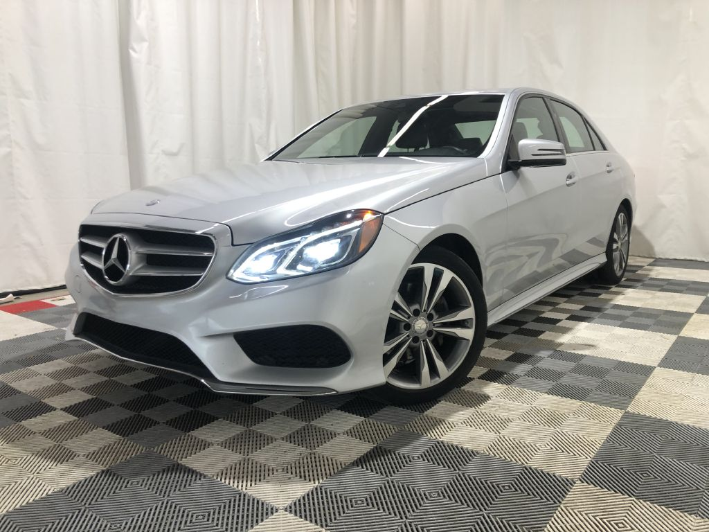 2014 MERCEDES-BENZ E-CLASS SPORT E350 4MATIC *AWD* for sale at Cherry Auto Group