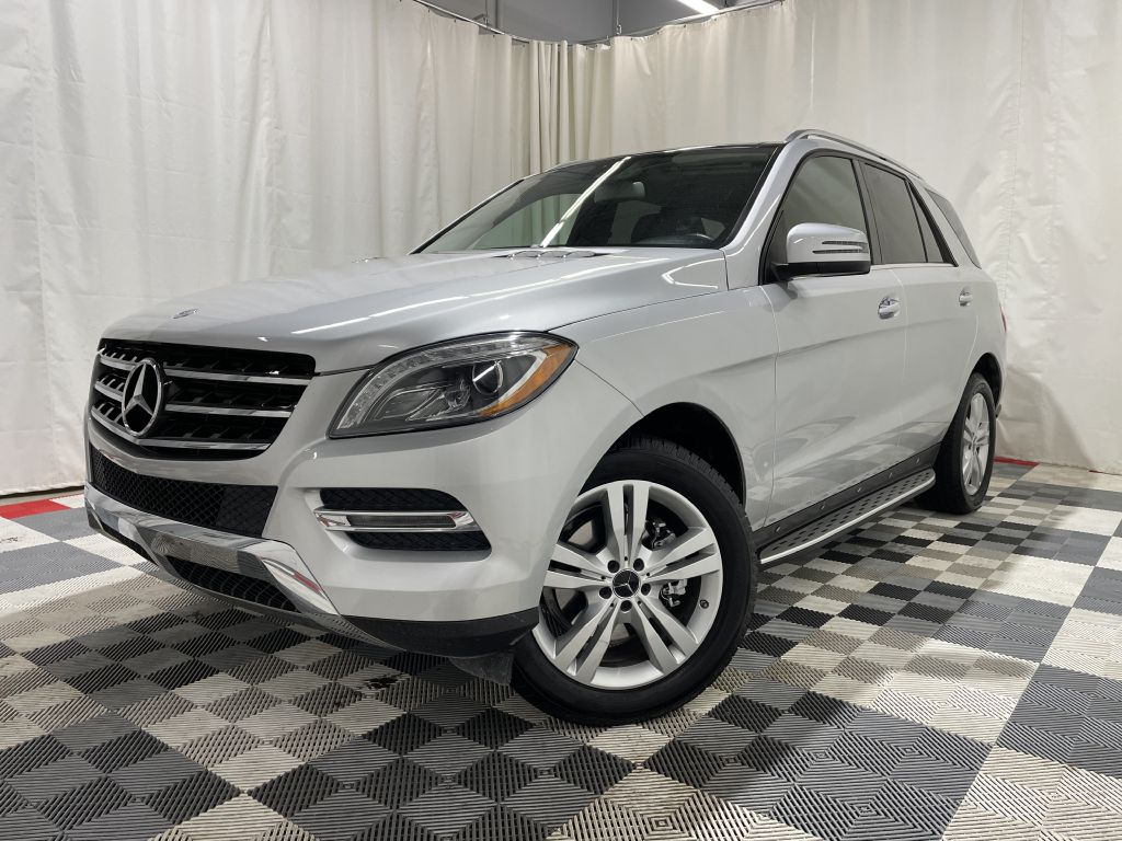 2015 MERCEDES-BENZ ML 350 4MATIC *AWD* for sale at Cherry Auto Group