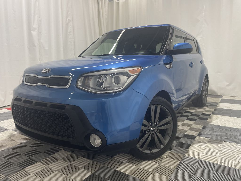 2015 KIA SOUL + PLUS for sale at Cherry Auto Group