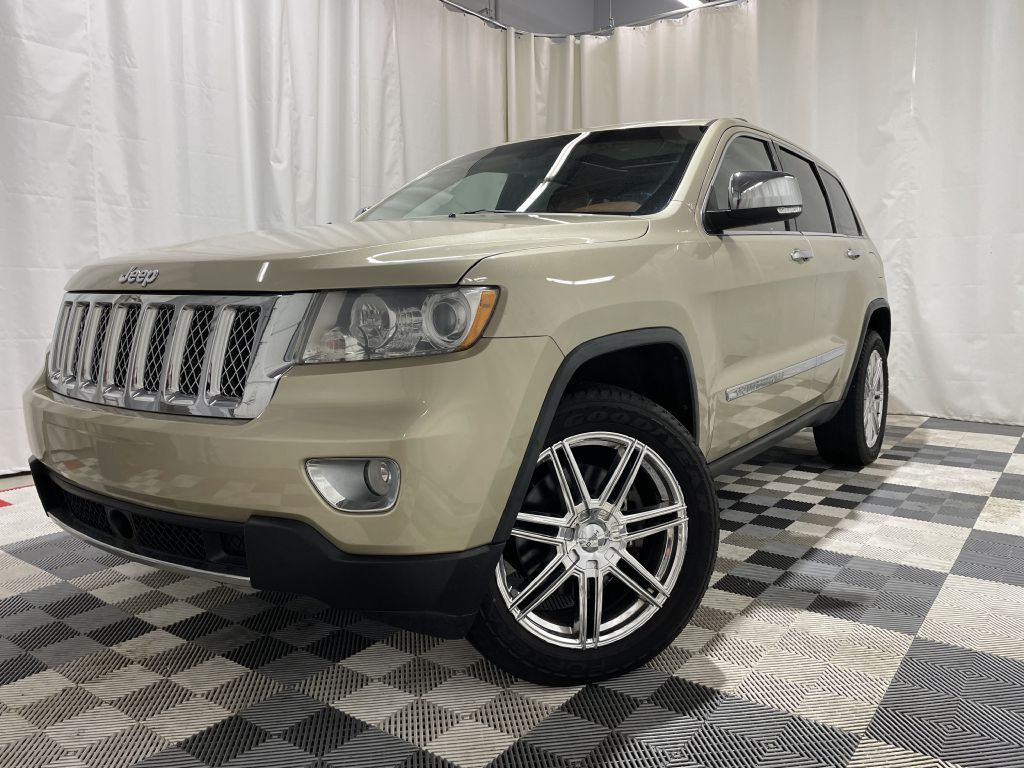 2011 JEEP GRAND CHEROKEE OVERLAND *4WD* for sale at Cherry Auto Group