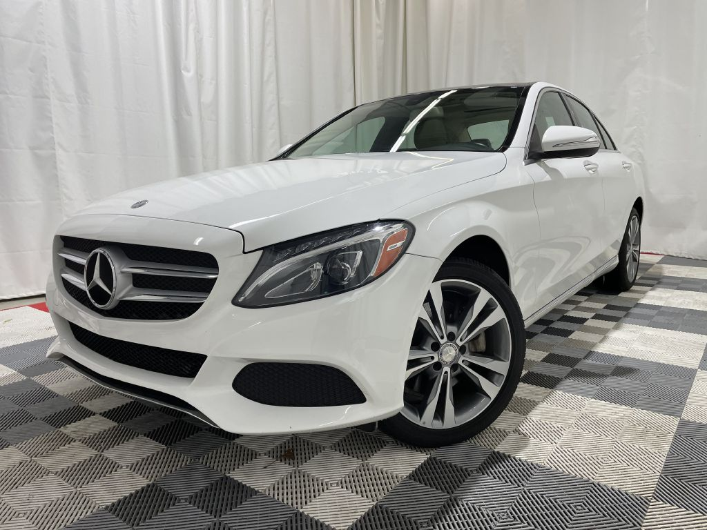 2015 MERCEDES-BENZ C-CLASS C300 4MATIC *AWD* for sale at Cherry Auto Group