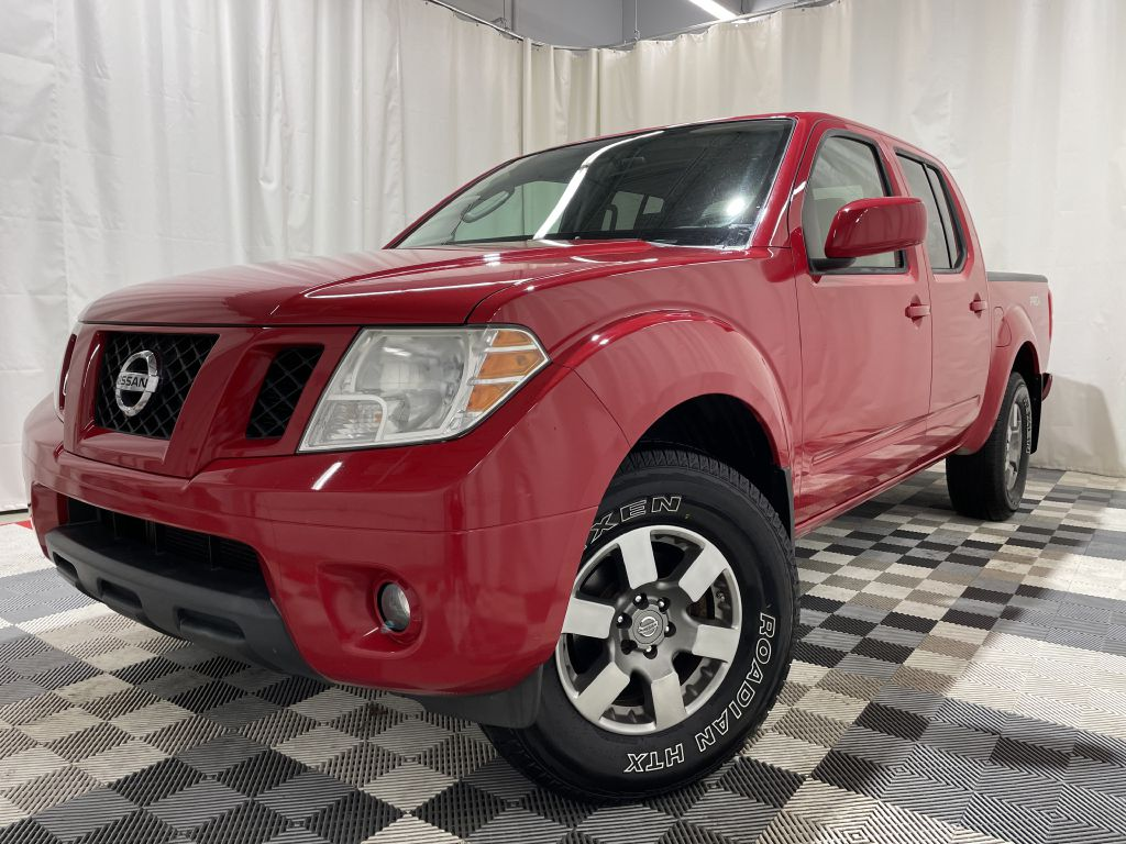 2010 NISSAN FRONTIER PRO 4X CREW CAB for sale at Cherry Auto Group