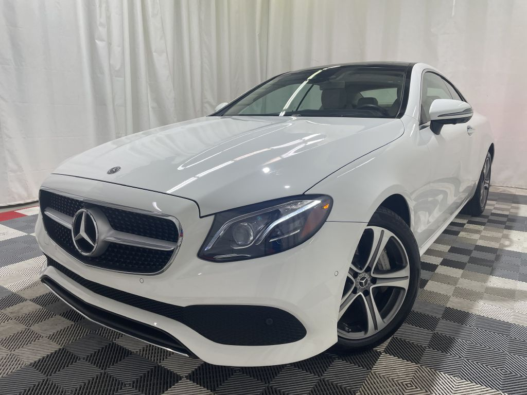 2020 MERCEDES-BENZ E-CLASS COUPE E450 4MATIC *AWD* for sale at Cherry Auto Group