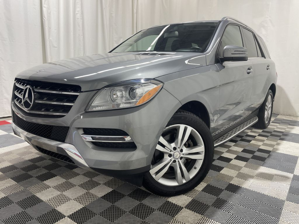2014 MERCEDES-BENZ ML 350 4MATIC *AWD* for sale at Cherry Auto Group