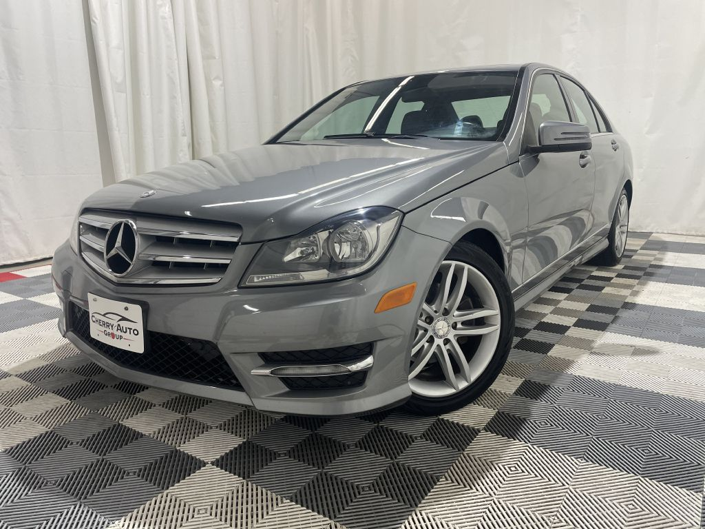 2012 MERCEDES-BENZ C-CLASS SPORT C300 4MATIC *AWD* for sale at Cherry Auto Group
