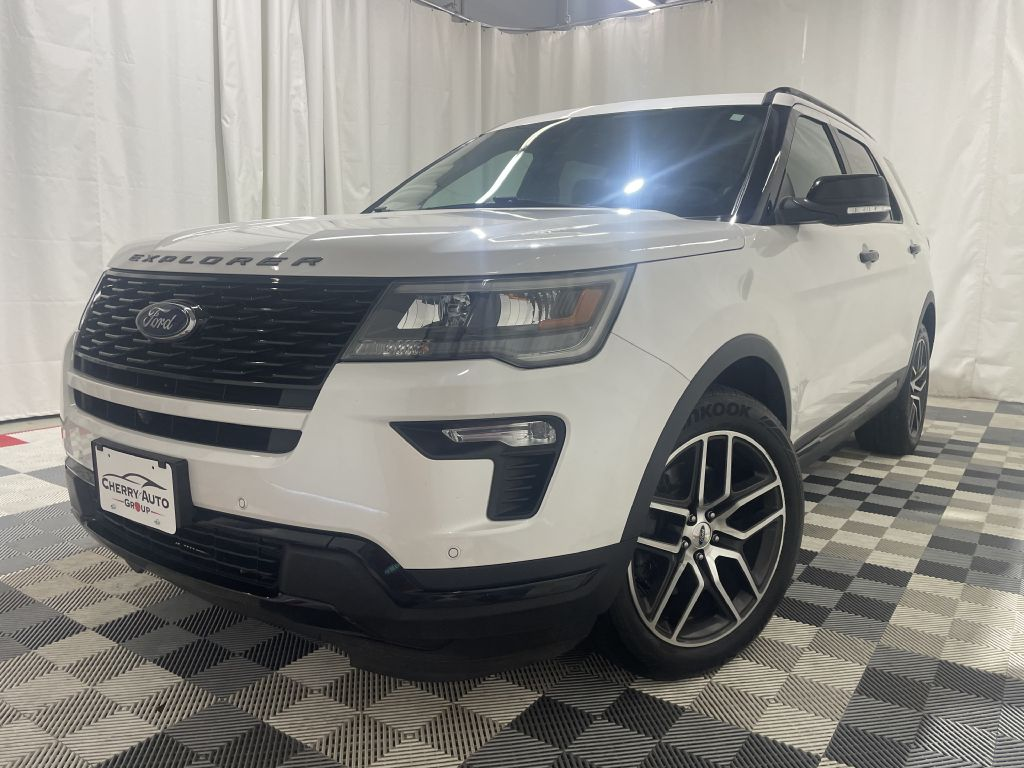 2018 FORD EXPLORER SPORT *4WD* for sale at Cherry Auto Group