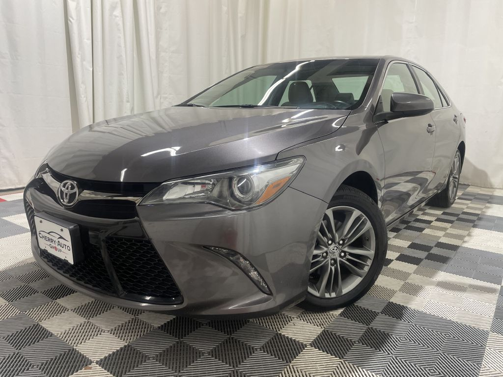 2016 TOYOTA CAMRY SE for sale at Cherry Auto Group