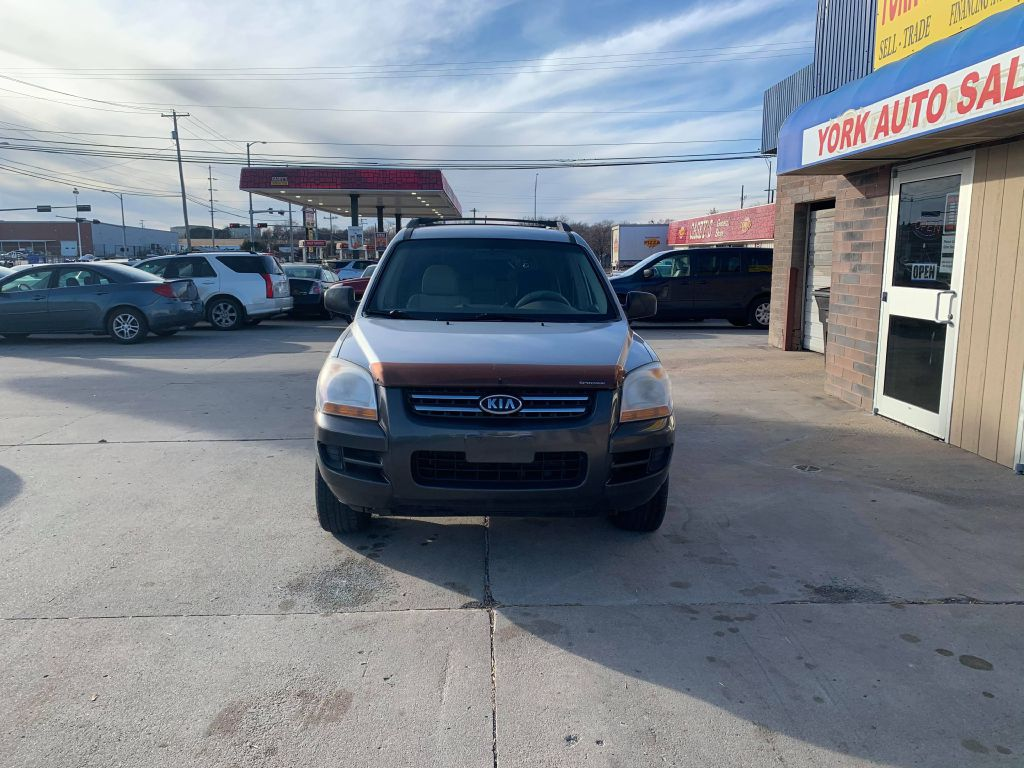 2006 KIA NEW SPORTAGE KNDJE723067224245 YORK AUTO SALES