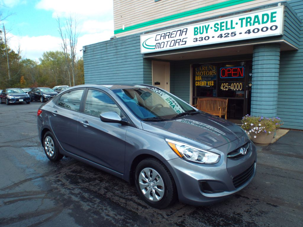 2016 HYUNDAI ACCENT SE for sale in Twinsburg, Ohio