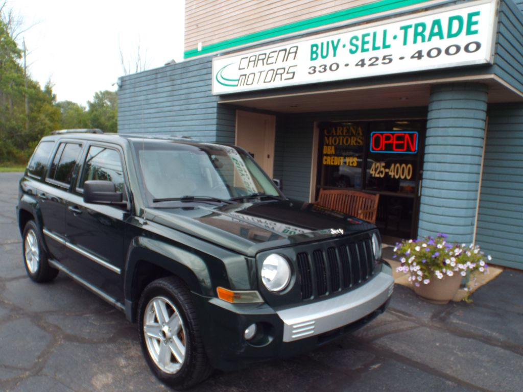 2010 JEEP PATRIOT LIMITED for sale in Twinsburg, Ohio