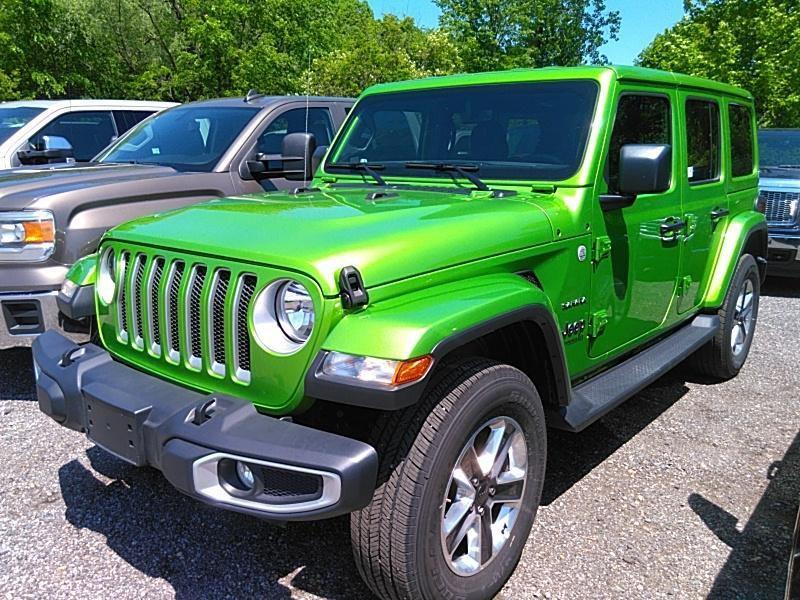 2020 JEEP WRANGLER UNLIMI SAHARA for sale at Carena Motors