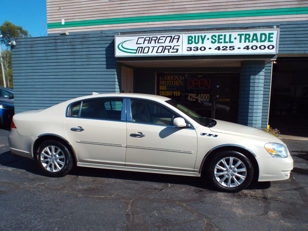 2010 BUICK LUCERNE CXL for sale in Twinsburg, Ohio