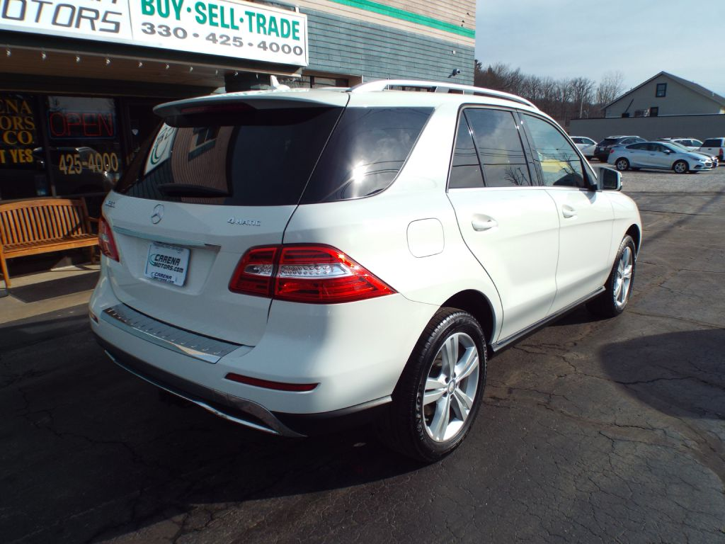 2013 MERCEDES-BENZ ML 350 4MATIC for sale at Carena Motors